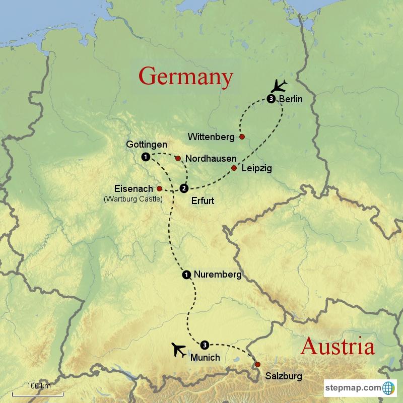 Reformation Rail Tour Reformation Tours