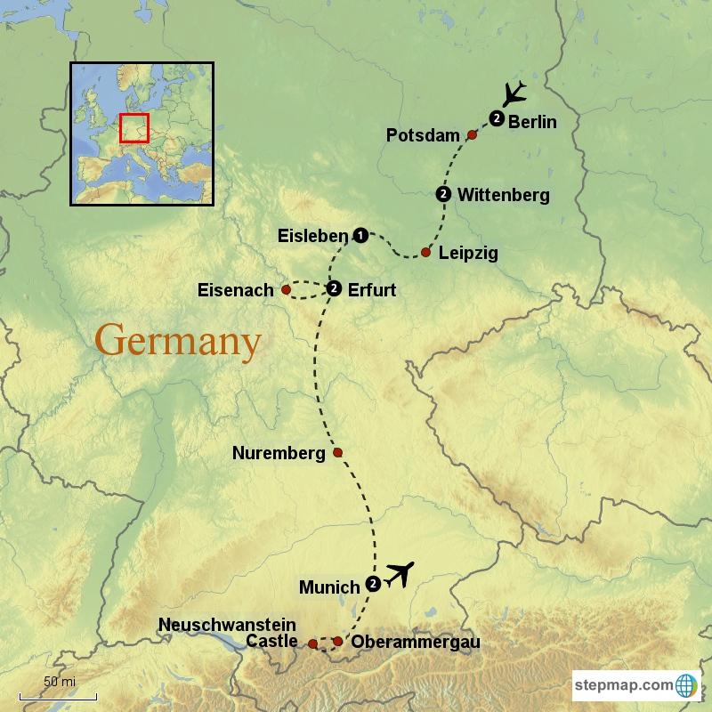 Lutheran Heritage Tour Reformation Tours