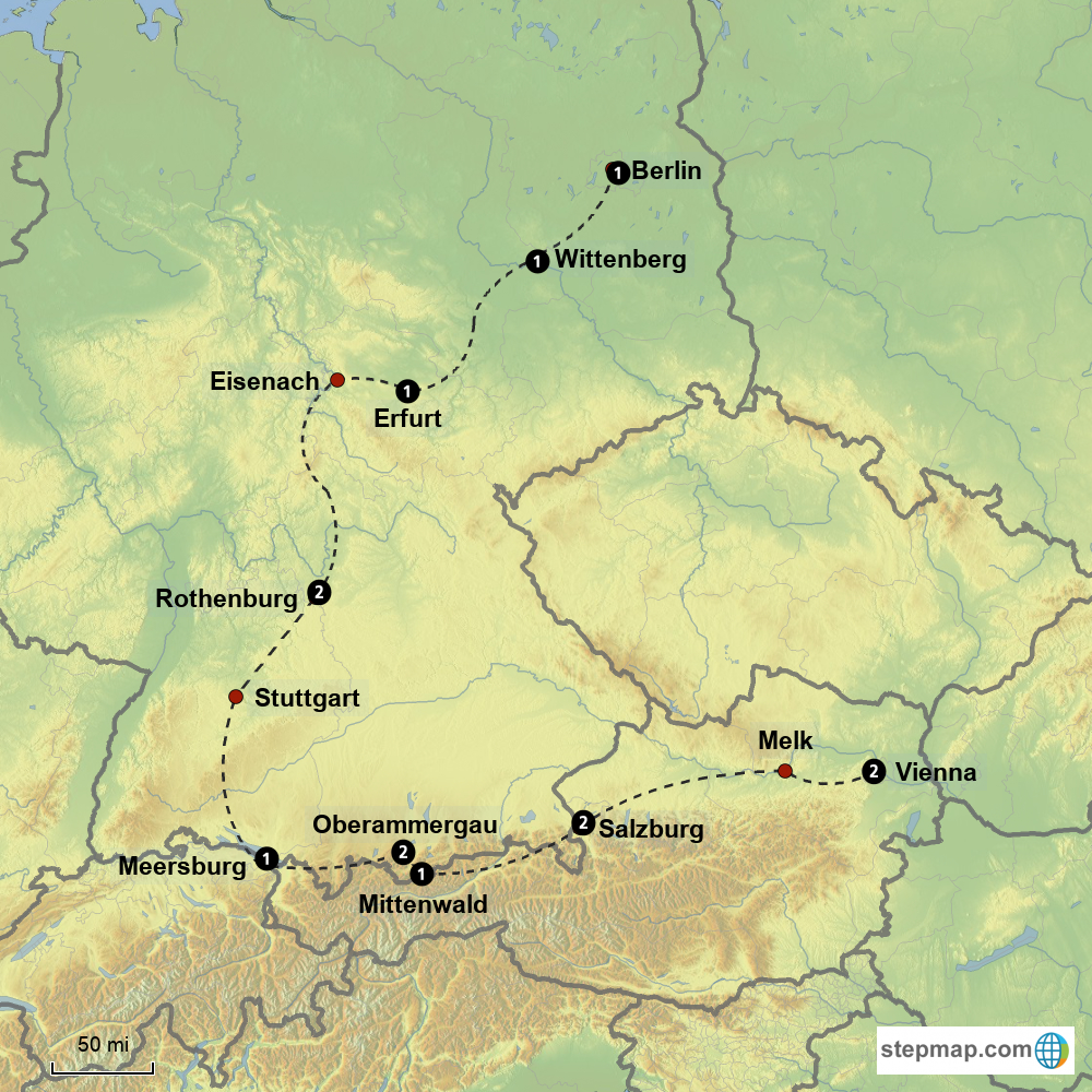 The Omaha to Oberammergau Tour is a private 15day tour of Germany